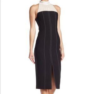 NWT Cinq a Sept Noemi mock neck mini dress
